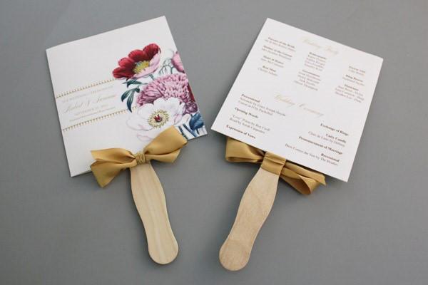 D.I.Y Wedding Programs